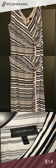 Lane Bryant maxi, Black white 18/20 Bought this from another Posher and loved it, but it's a little too big! The beauty of Poshmark? Someone else was also selling it in a smaller size, so this one can go to someone else! Super comfy and very flattering. Easy to dress up or down. No trades, no offers off of PM. Selling for what I paid. Thanks for looking, be awesome today! 😊 Lane Bryant Dresses Maxi