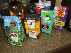 Organic coffee in Dallas for the Morning Coffee Mixer