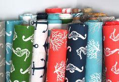Nautical Premier Prints Fabric