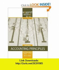 Working Papers, Volume I, Chs. 1-12 to Accompany Accounting Principles (9780470386620) Jerry J. Weygandt, Donald E. Kieso, Paul D. Kimmel, Dick D. Wasson MBA CPA , ISBN-10: 0470386622  , ISBN-13: 978-0470386620 ,  , tutorials , pdf , ebook , torrent , downloads , rapidshare , filesonic , hotfile , megaupload , fileserve
