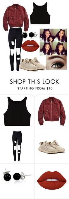 """Drake"" by immouse ❤ liked on Polyvore featuring Topshop, WithChic, Bling Jewelry, Lime Crime, DRAKE, views and 60secondstyle"