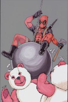Deadpool wrecking ball!
