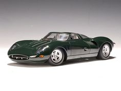 This Jaguar XJ13 Diecast Model Car is Dark Green and features working wheels. It is made by AUTOart and is 1:43 scale (approx. 11cm / 4.3in long).  ...