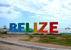 We love this colorful sign in Belize City! Belize City, Belize Hotels, Belize Vacations, Belize Travel, Cruise Vacation, Beautiful Places To Visit, Places To See, Travel Pictures, Travel Photos