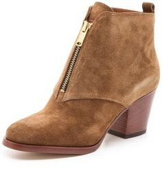 Marc by Marc Jacobs Zip Front Ankle Boots on shopstyle.co.uk