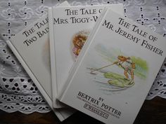 Beatrix Potter Book Bundle. Books 5,6,7: The Tale of Two Bad Mice, The Tale of…