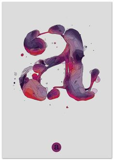 #typography It looks like paint! It has a lot of movement.