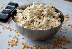 Zelf popcorn maken #popcorn #snack #gezondesnack