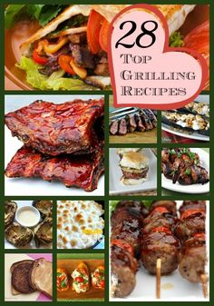 Fire up the grill this summer with these 28 top grilling recipes for juicy steaks, original barbecue burgers, heavenly side dishes, delectab...