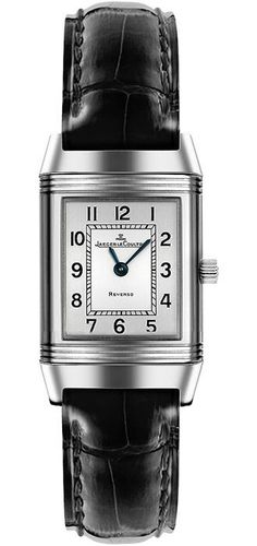 Jaeger LeCoultre Reverso Silver Dial Ladies Watch Q2608412 - Reverso - Jaeger LeCoultre - Shop Watches by Brand - Jomashop 3460