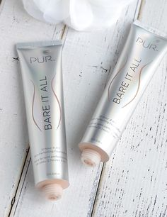 Looking for a stay-put matte foundation with full coverage that won't slide off during the day? PÜR Cosmetics Bare It All Skin-Perfecting Foundation has you covered!