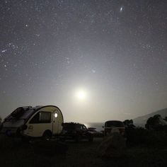 Moon setting into the Pacific, billions of stars overhead.  Don't you wish you were here instead?  #stars #timelapse #california #bigsur #rei1440project #outdoors #campvibes #montereylocals - posted by Lovine https://www.instagram.com/heylovine. See more of Big Sur at http://bigsurlocals.com