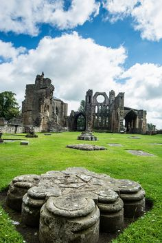 Elgin Cathedral, Moray, Scotland by L0bit0