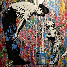 Mr Brainwash Exhibition, London 2012 by Jimzina, via Flickr #street art