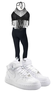 """""""fashion killa"""" by perttypink on Polyvore featuring NIKE and Luli Fama"""