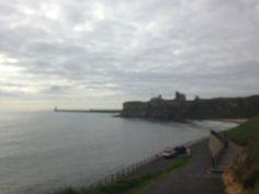 Tynemouth king Edwards bay beach 7.45am 9th June 2015 www.tynemouthwebcam.com