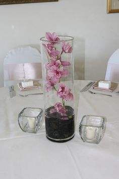 submerged orchid centerpieces - Google Search