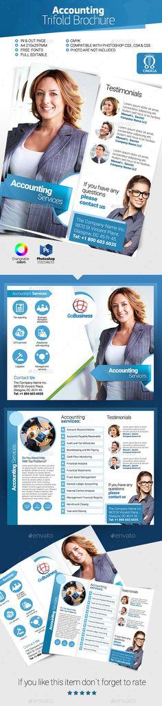 Accountant Trifold Brochure