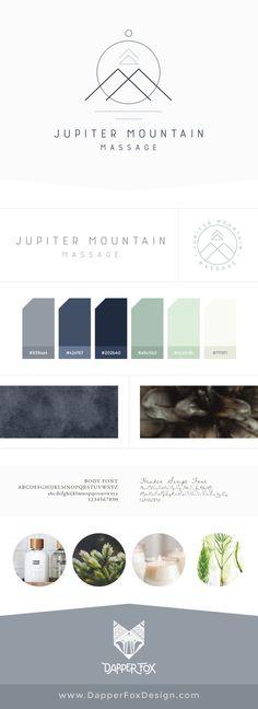 Modern Minimalistic Rustic Simple Logo Design | by Dapper Fox Design - Branding, Logos + Website Design