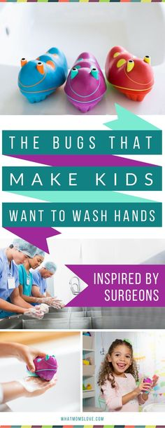 Keep your kids healthy all year round - especially during the winter, flu and cold season! These Scrub Bugs are 3 times more effective, and a fun way to get kids to wash their hands - keeping them healthy, instead of sick - hurrah! Learn more and get an e