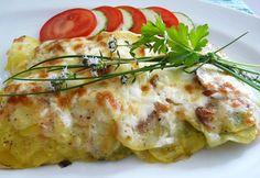 Fotorecept: Ryba pod zemiakovou krustou