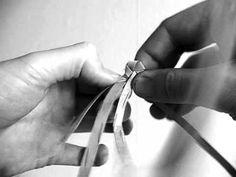Мастер-класс. Плетение закладки из бересты - YouTube