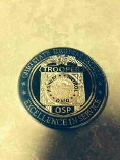 Ohio Highway Patrol State Police coin