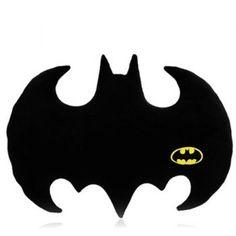 Cute Batman Logo Shape Pillow (BLACK) in Decorative Pillows & Shams | DressLily.com