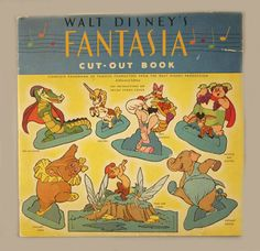 Disney's Fantasia Cut-Out Book