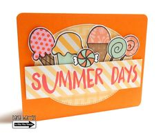 The Alley Way Stamps - Dana Warren - TAWS, Clear Stamps, Cards, Brain Freeze