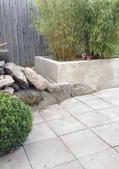växtbädd betong platsgjuten