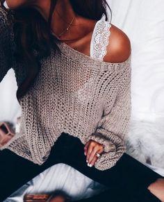 ♥ lace bralette