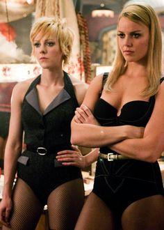 Abbie Cornish and Jena Malone, in Sucker Punch (2011)