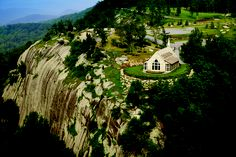 The Cliffs at Glassy Chapel  Landrum, SC  Mountaintop Wedding
