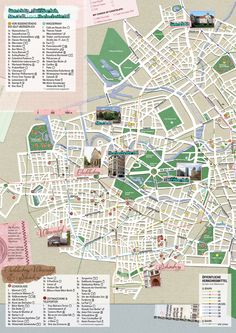 Map of Berlin tourist sights and attractions from Tripomatic nice