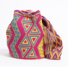 One-Of-A-Kind Handmade #WayuuBags now at www.wayuutribe.com