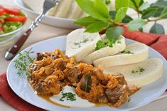 Krautfleisch - Rezept Goulash, Pulled Pork, Cheesesteak, I Love Food, Mexican, Treats, Dishes, Ethnic Recipes, Puff Pastry Recipes