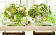 Savannah Style: A Green Dinner Party on PaulaDeen.com