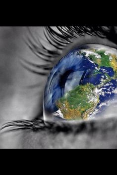 We should view the world differently at times