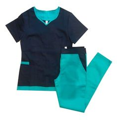Cute Scrubs Uniform, Cute Nursing Scrubs, Scrubs Outfit, Nursing Wear, Nursing Clothes, Healthcare Uniforms, Scrubs Pattern, Uniform Design, Medical Scrubs