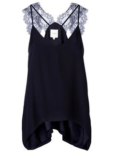Obsessed with this MASON BY MICHELLE MASON Lace Camisole!
