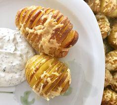 simpler sattmacher für die ferienkindermeute ::: fächerkartoffeln mit käse