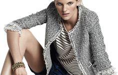 DIY Chaqueta Chanel (patrón gratis incluido). Costura de chaqueta y Blazer.                                                                                                                                                                                 Más