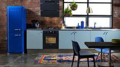 """Résultat de recherche d'images pour """"cuisine ikea frigo smeg"""""""