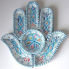 Hamsa Ceramic Turquoise