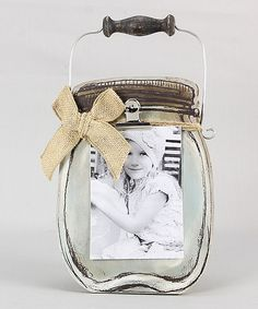 Another great find on #zulily! Wood Mason Jar by Young's #zulilyfinds