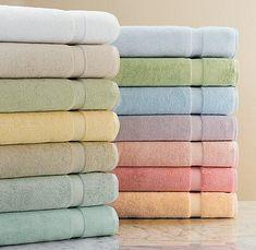 solid pastel bathroom towels!! www.bagnodesignglasgow.com www.facebook.com/bagnoglasgow @BAGNODESIGN Glasgow