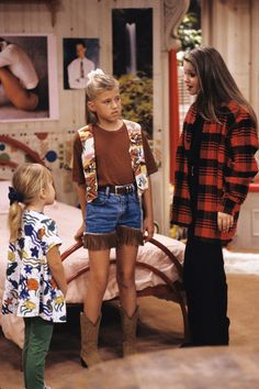 dj tanner outfits full house - Google Search