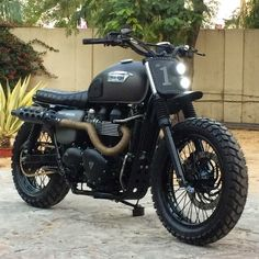 Triumph Bonneville Scrambler by Rajputana Custom Motorcycles   built for Triumph Motorcycles India