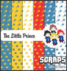 The Little Prince Kit Scrapbook Digital by ScrapsOfficialStore